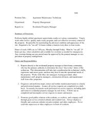 Facilitye Supervisor Resume Examples New Sample General Of Job