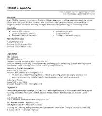 Resume Substitute Teacher No Experience Good Cover Letter Teaching