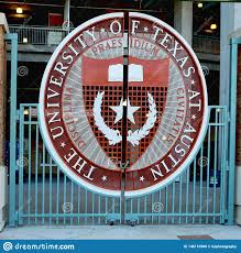 26 Avril 2019, Austin, Le Texas Le Symbole D'Université Du Texas Sur La  Porte De Stade De Football De Longhorns Image éditorial - Image du  longhorns, austin: 146110980