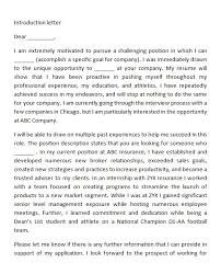40 Letter Of Introduction Templates Examples
