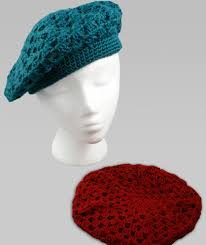 Crochet Beret Pattern Gorgeous Crochet Beret Red Heart