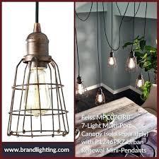 feiss urban renewal 1 light mini pendant lighting rustic iron