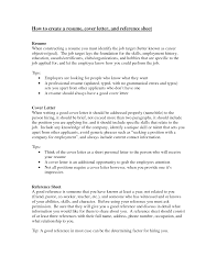Cosy References On Resume Or Cover Letter About How To Create A