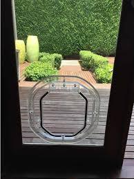 medium dog door for glass