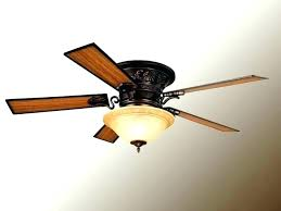 hunter outdoor ceiling fan with light and remote flush mount fans no to globes best lo