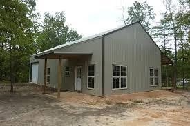 x 56 metal pole barn home
