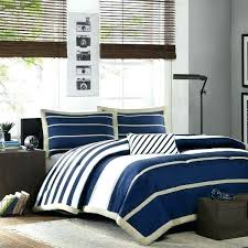 blue and white striped comforter navy stripe twin