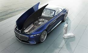 The next step towards your dream car: The New Mercedes Maybach Concept Is A 20 Foot Long Convertible Bloomberg