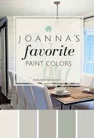 bedroom paint color schemes photo aznt joannas five favorite fixer upper paint colors paint theharperhousecom