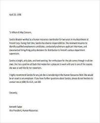 reference letter from employer sample recommendation letter from employer 9 free documents in