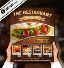 Free Restaurant Flyer Archives - Indiater