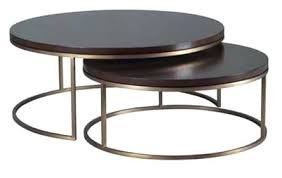 round nesting coffee table catchy nesting coffee tables with elle round nest coffee table marble top