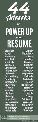 Here Are 99 Strong Words To Use On Your Resume To Get You Hired