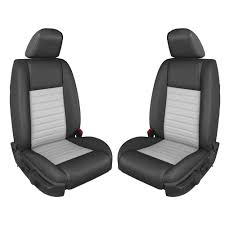 tmi upholstery oem style dark charcoal airbag gt california special 2007 2009