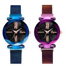 ︻<b>Lvpai Fashion</b> Steel Watch Female <b>Star Sky</b> Women'S Clock ...