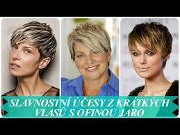 účesy Z Krátkých Vlasů Pro Starší ženy Jaro 2018 игровое видео