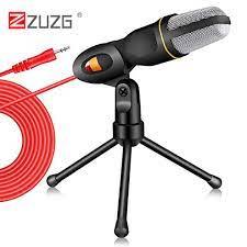 ZUZG Micro Cầm Tay Micro Âm Thanh Phòng Thu MIC Âm Thanh Nổi Gia Đình Cho  Máy Tính Trò Chuyện Skype Chơi Game Ghi Âm Podcast - Micro