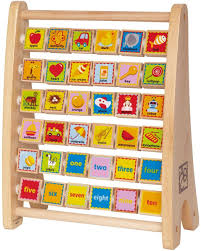 HAPE TOYS WOODEN ALPHABET ABACUS Top toys for 2 year old boys - TOP