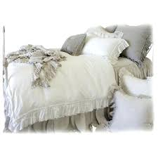 linen bed cover pure linen bedding vintage ruffle duvet cover for linen bed covers nz