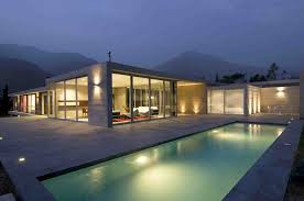 gorgeous design home. plain gorgeous swimming pool great long rectangle shape design with mountain  view the gorgeous home