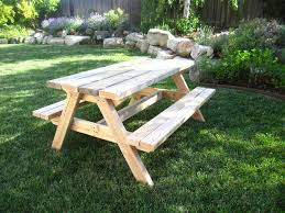 Free Picnic Table Designs 15 Free Picnic Table Plans In All Shapes And Sizes