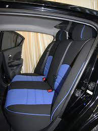 nissan versa half piping seat covers rear seats