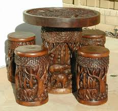 hand carved furniture. Contemporary Carved Hand Carved Furniture Set For