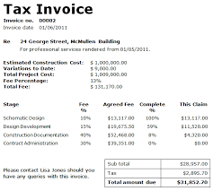 An Example Of An Invoice Invoice Details Example free printable invoice 57