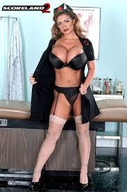Scoreland2 Nurse Denise is a busty dildo lover Denise.