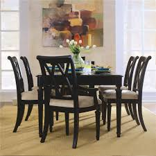 room camden dark 7 piece formal dining set