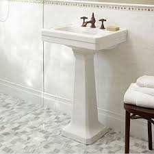 mini pedestal sink. Fitzgerald 24 Inch Pedestal Sink Three Hole DXV With Regard To Bathroom Decorations 16 Mini Y