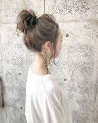 簡単ざっくりなお団子がトレンド誰でもできるヘアアレンジhowtohair