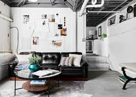 10 partially finished basement ideas