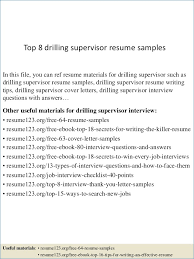 Supervisor Skills Resume Bestresumeideas Com