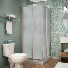 image of lowe s free standing shower stalls