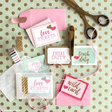 Downloadable Coupons Download A Set Of Cute Printable Love Coupons For Valentines Day
