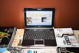 review s eee pc 1000he wired