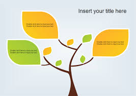 tree diagram powerpoint tree diagram ppt template free download powerpoint tree template