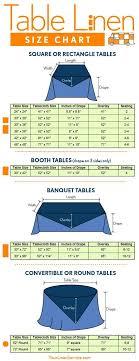 best 25 tablecloth sizes ideas on tablecloth