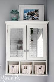 Over The John Storage Cabinet 10 Tips For Designing A Small Bathroom Toilets Bathroom Storage