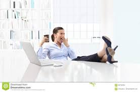 woman office furniture. Royalty-Free Stock Photo Woman Office Furniture