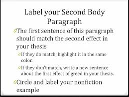 revising your expository essay label your thesis underline your  4 label