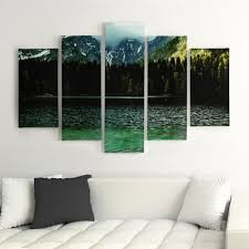 5 panel pictures decor painting martwa