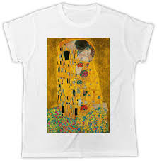 gustav klimt famous art paintings kissing ideal gift flower uni mens tshirt for t shirts for t shirts from daddymaher 11 01 dhgate