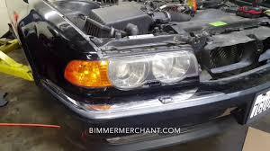 BMW Convertible bmw e38 specs : Xenon Headlight Removal BMW E38 740iL - YouTube