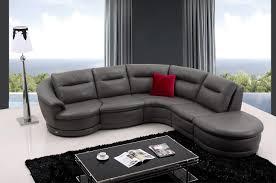 Grey Sofa Chair Casa Bedrock Modern Dark Grey Eco Leather Sectional Sofa