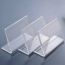 Business Card Display Stands Simple Clear Acrylic Name Card Business Card Display Stand Holder Buy