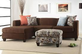 chocolate microfiber sectional sofa f7182