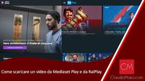 Come scaricare un video da Mediaset Play e da RaiPlay ...