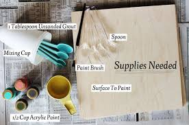 Chalkboard paint supplies